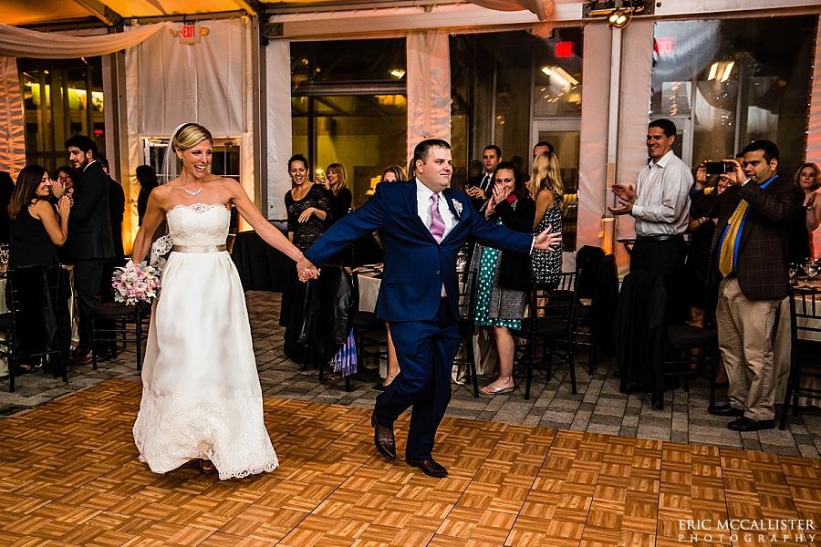 A new england aquarium wedding chrissy brian eric for Acote salon boston