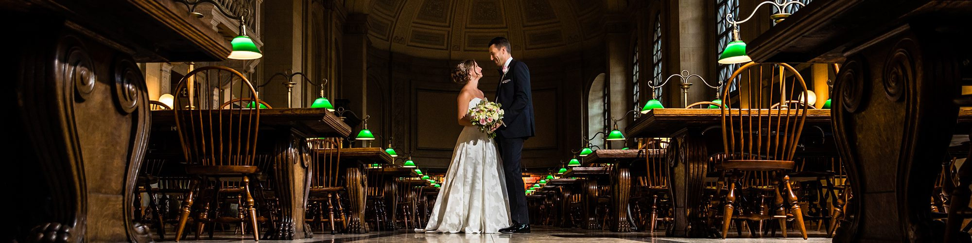 Boston Public Library Wedding.A Boston Public Library Wedding Alex Ian Eric